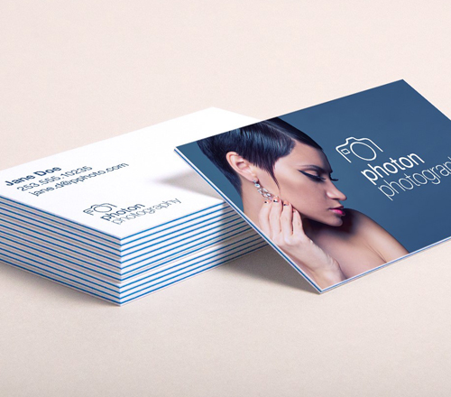 Thick Visiting Cards